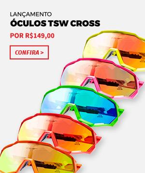 54c08f4d83414 Óculos de Ciclismo TSW Cross