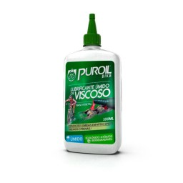 Lubrificante Úmido Viscoso 100ml Puroil Oil Bike
