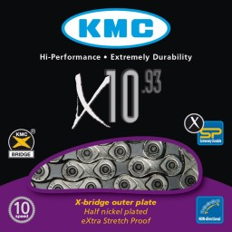 Corrente Fina 116 Elo X-10 KMC