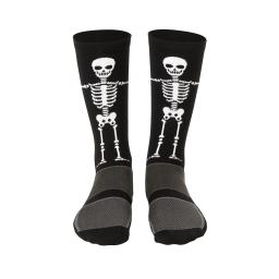 Meia Cano Longo Hupi Esqueleto