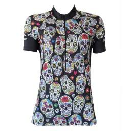 Camisa BeFast Feminina Skulls