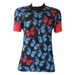 Camisa BeFast Feminina Borboletas