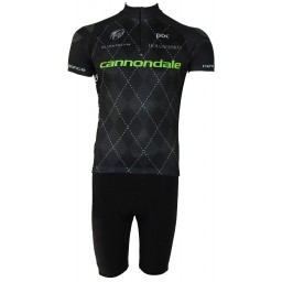 Conjunto Bermuda e Camisa Pro Tour Cannondale Black