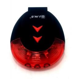 Lanterna Led Traseira Ciclovia Jws