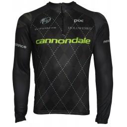 Camisa Manga Longa Pro Tour Cannondale Black Edition