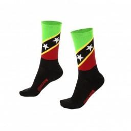 Meia Cano Longo Hupi Flag