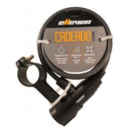 Cadeado Elleven Espiral 1mx6mm Com Chave