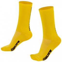 Meia Cano Longo Hupi Amarelo