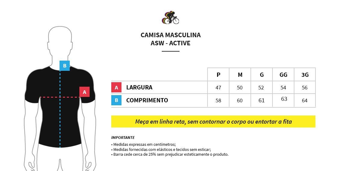 Roupas para Ciclismo - A WebStore do Ciclista Camisa ASW Fun Frame 19 39a840ea46b